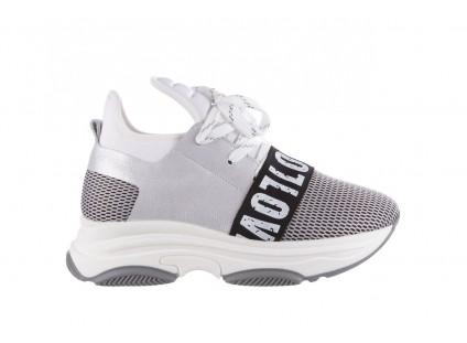 Bayla-155 385-2800 Popielate Sneakersy 19