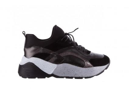 7047d1a3 Bayla-155 385-2758 Czarne Sneakersy 19 ...