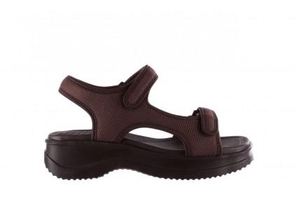 Sandały Azaleia 320 323 Brown 19, Brąz, Materiał