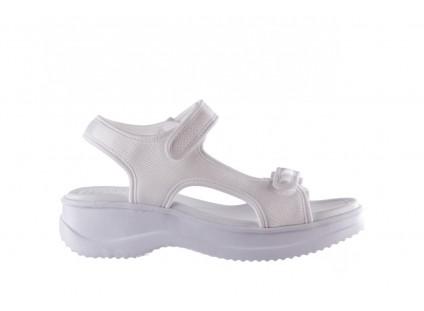 Sandały Azaleia 320 323 White 20, Białe, Materiał