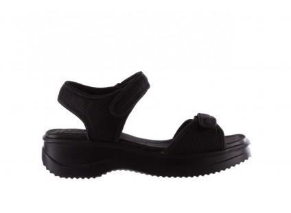 Sandały Azaleia 320 321 Black 19, Czarny, Materiał