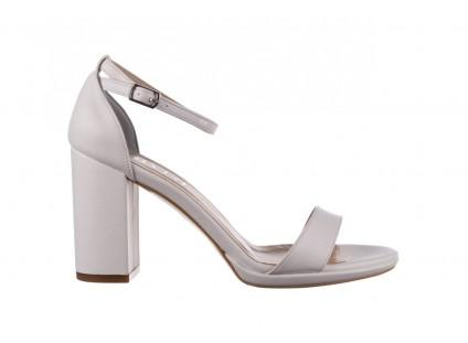Sandały Bayla-187 587-571 Biały, Skóra ekologiczna