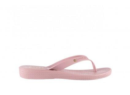 Klapki Azaleia 246 119 Pink-Pink, Róż, Guma