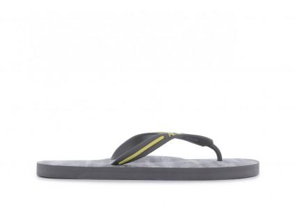 Klapki Armani Jeans A6561 38 Grey , Szary, Guma