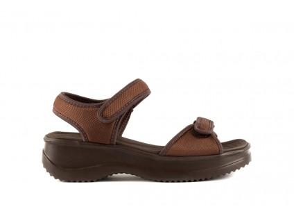 Sandały Azaleia 320 321 Brown 19, Brąz, Materiał