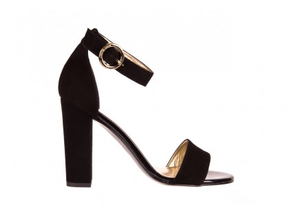 Bayla-056 8024-21 Czarne Sandały