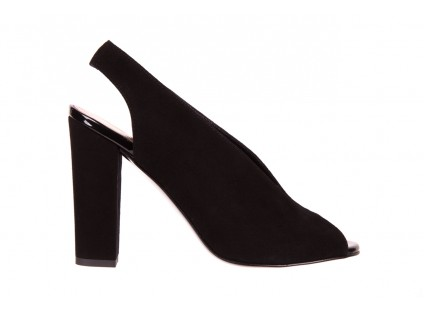 Bayla-056 8043-21 Czarne Sandały