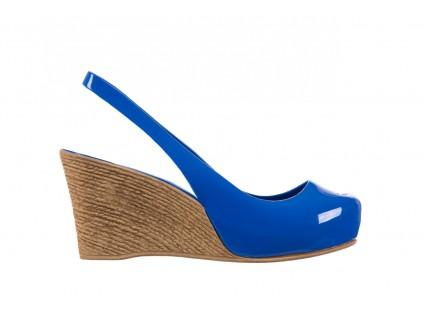 Sandały Bayla-064 Coco Blue. Granat, Guma