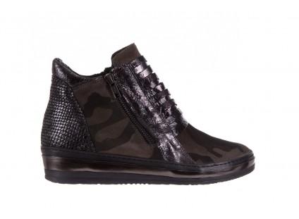 Sneakersy Bayla-131 4006 Grey, Szary, Skóra naturalna