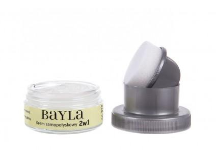 Bayla-139 Krem samopołyskowy 2w1 bezbarwny 812