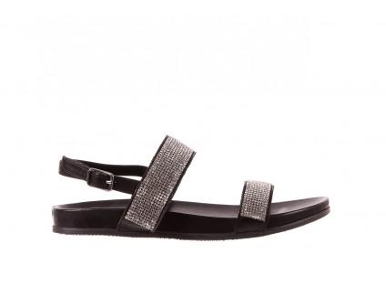Sandały Bayla-163 17-302 Black, Czarny, Skóra naturalna