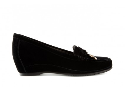 Bayla-018 1647-7 Black Kid Suede