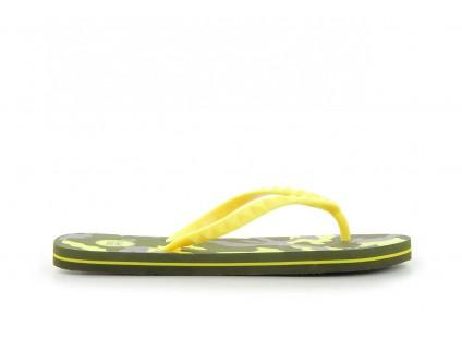 Klapki Gioseppo Frappe 1 Yellow, Żółty, Guma