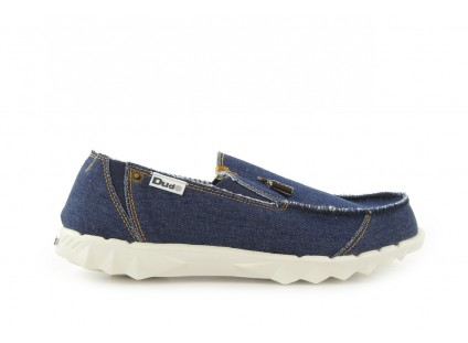 HeyDude Farty Denim Blue