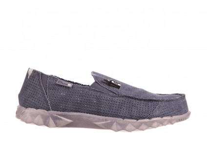 HeyDude Farty Perforated Navy