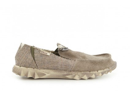 HeyDude Farty Woven Taupe