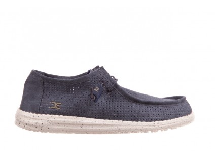 HeyDude Wally Perforated Navy