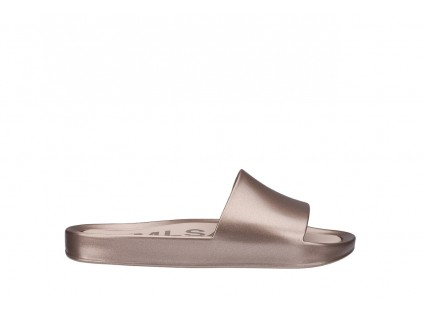 Melissa Beach Slide Shine Ad Pink Metal
