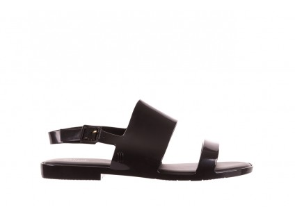 Sandały Melissa Classy Ad Black, Czarny, Guma