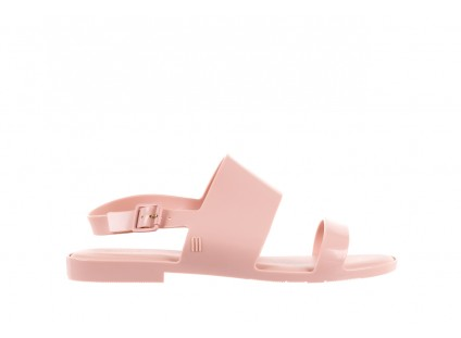 Sandały Melissa Classy Ad Light Pink, Róż, Guma