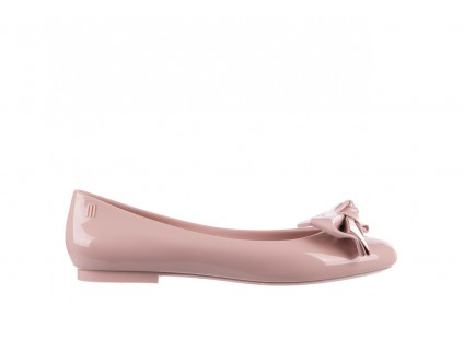 Baleriny Melissa Doll Fem II Ad Light Pink, Róż, Guma