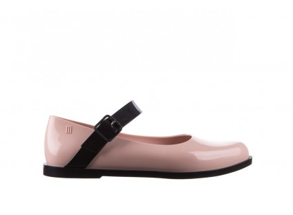 Melissa Mary Jane Ad Pink Black