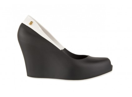 Melissa Queen Wedge II Ad Black/White