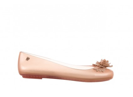 Melissa Space Love Flower/AL Clear Beige 010206