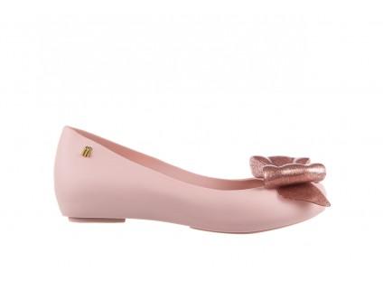 Baleriny Melissa Ultragirl Sweet XIV Ad Light Pink, Róż, Guma