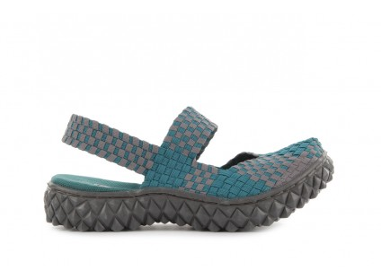 Rock Over Sandal Petrol-Grey