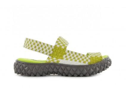 Rock Sandal 2 Green-White