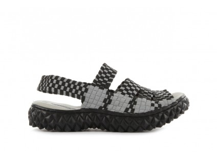 Rock Sandal 4 Grey Black