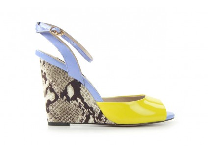 Sca'viola W3223-621 Yellow Blue