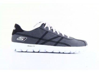 Skechers 53661 GYBK Gray- Black