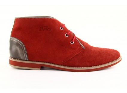 Tresor-Tb 215 Czerwony Welur