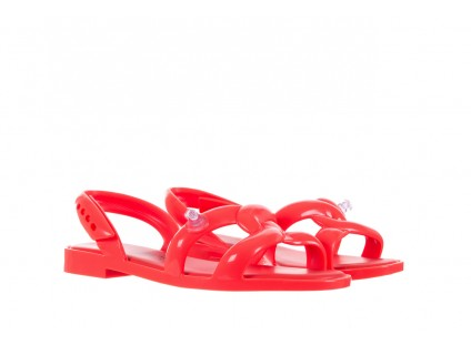 Melissa Tube Sandal Jeremy Sc Neon Orange