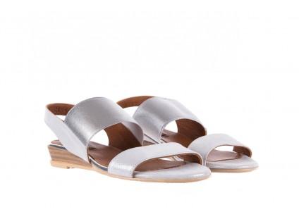 Sandały Bayla-112 0410-120 White Satin, Biały, Skóra naturalna