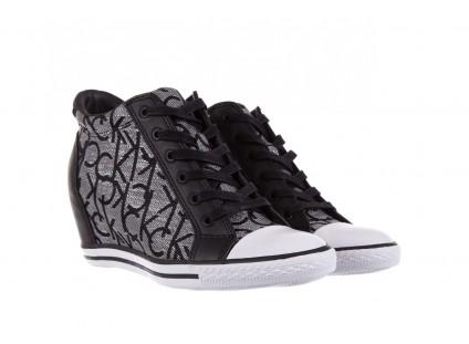 Calvin Klein Jeans Vero Jacquard Silver-Black