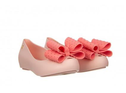 Baleriny Melissa Ultragirl Sweet XIX AD Pink 010374, Róż, Guma