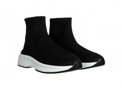 Sneakersy Sca'viola L-15 Black 047194, Czarny, Materiał