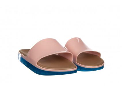 Klapki Melissa Beach Slide Next Gen AD Pink Blue 010339, Róż, Guma
