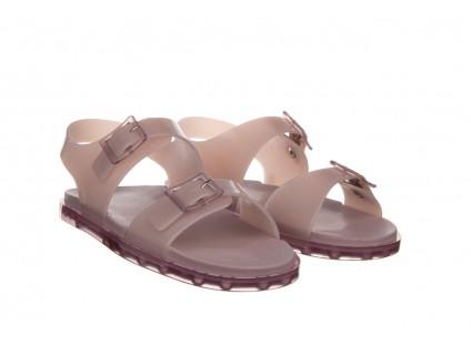 Sandały Melissa Wide Sandal AD Lilac 010359, Fioletowy, Guma
