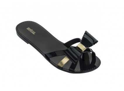 Melissa Fluffy II Ad Black Gold