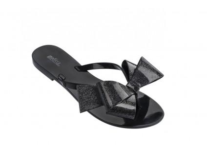 Melissa Harmonic Bow III AD Black Glitter