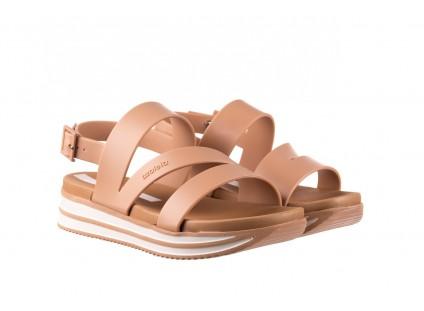 Sandały Azaleia 260 497 Nude, Beż, Guma