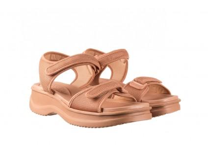 Sandały Azaleia 320 321 Nude, Róż, Materiał
