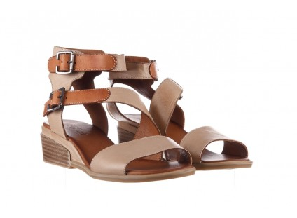 Sandały Bayla-161 061 1605 Mouton Tan, Beż, Skóra naturalna