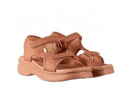 Sandały Azaleia 320 323 Nude 20, Róż, Materiał
