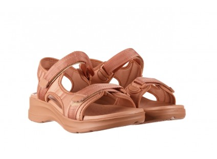 Sandały Azaleia 330 560 Nude, Róż, Materiał