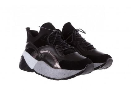 Bayla-155 385-2758 Czarne Sneakersy 19